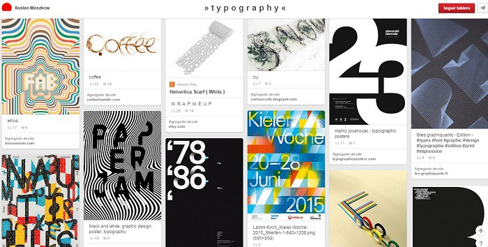 Tablero-Typography-de-RuslanMaszkov