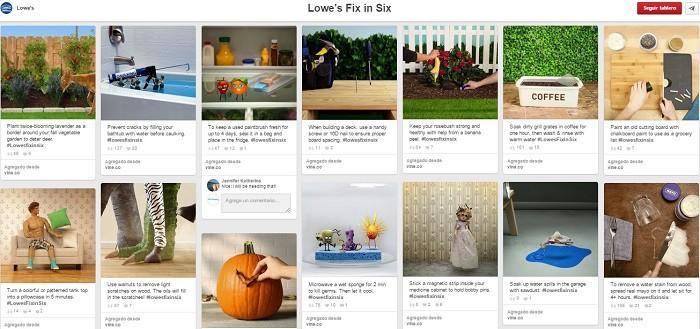 Videos-Vine-de-Lowes-en-un-tablero-en-Pinterest