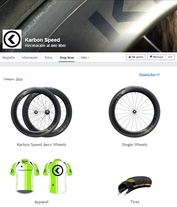 KarbonSpeed-tienda