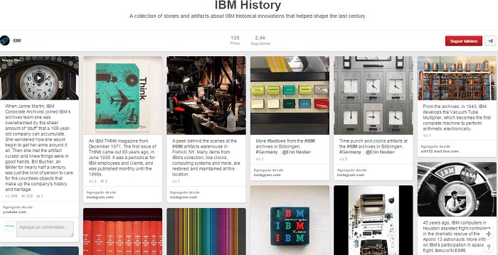 La-historia-de-IBM-en-tablero-en-Pinterest