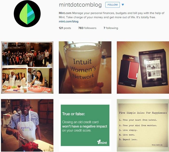 Mint.com-en-Instagram