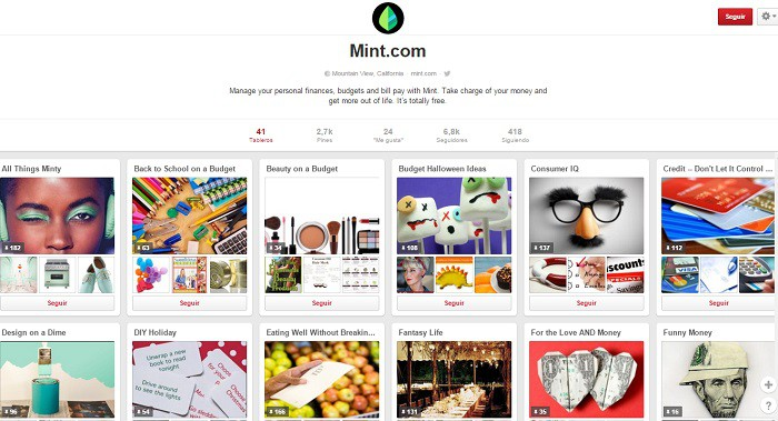 Mint.com-en-Pinterest