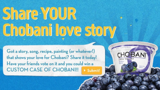 Share-Your-Chobani-Love-Story
