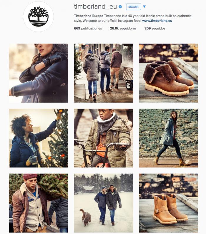 Inspiring Marketing Timberland