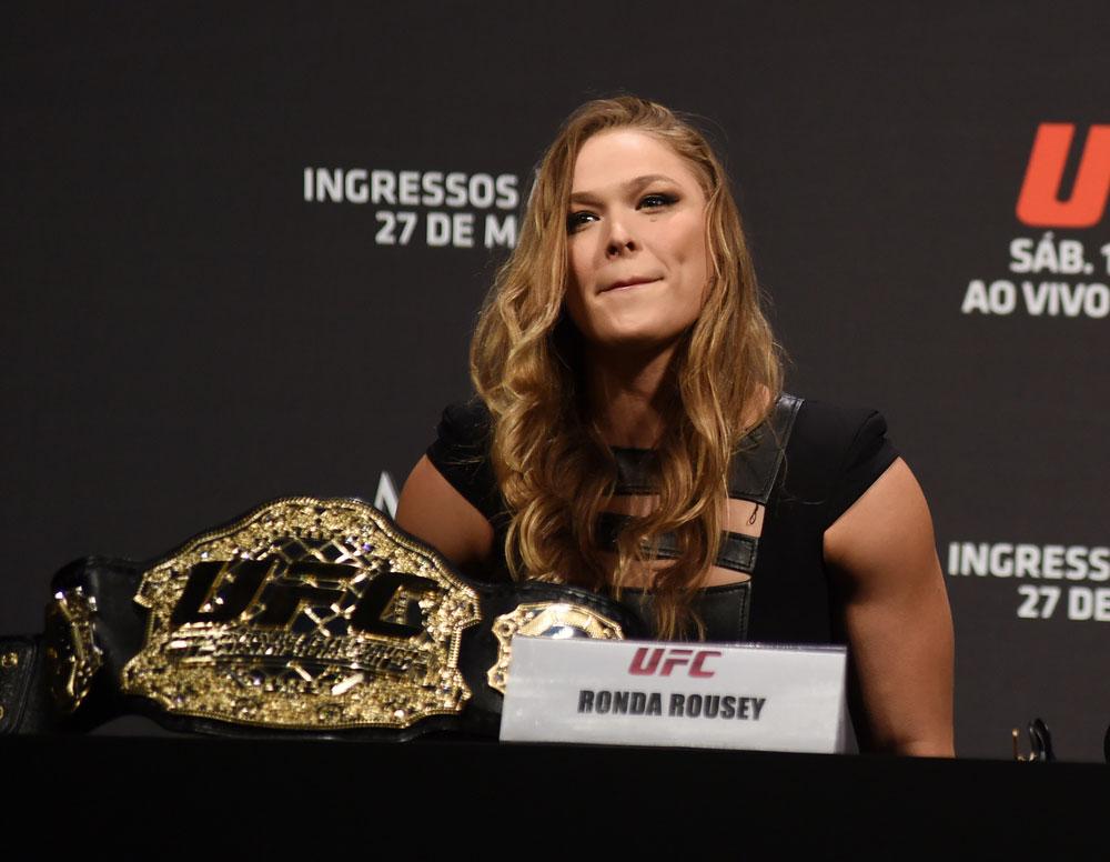 33 Frases Inspiradoras De Ronda Rousey Para Luchar En La