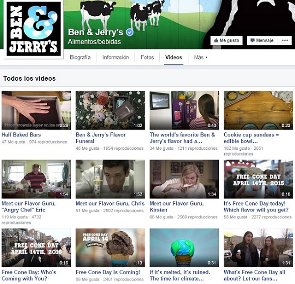 Videos-de-Ben&Jerry-en-Facebook