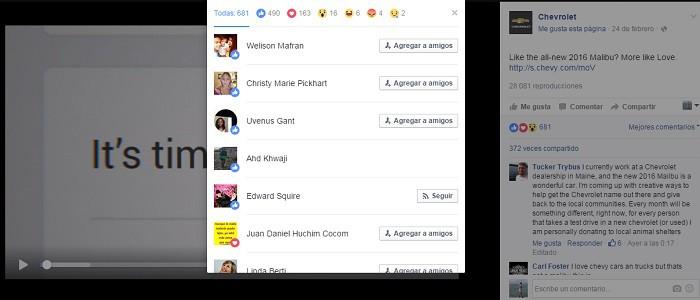 Ejemplo-Facebook-Reactions-Chevrolet-engagement