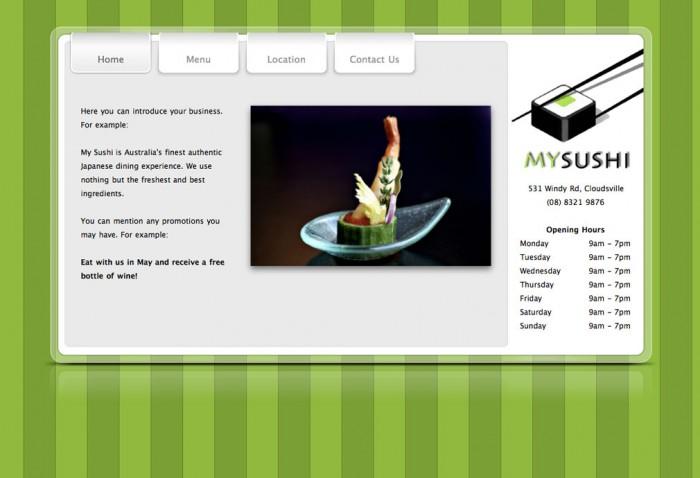 Ejemplo de web 1.0