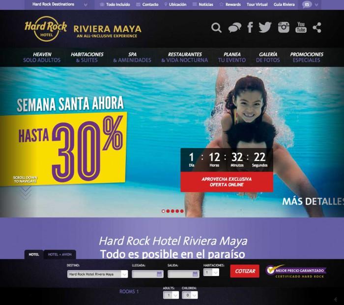 Ejemplo de home page