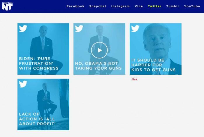 NowThis - Ejemplo de contenido en video
