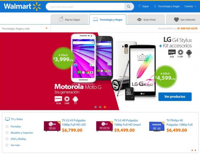 Ejemplo de e-commerce