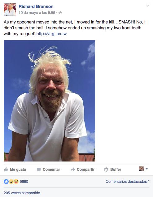 Contenido personal Facebook