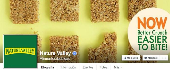 NatureValley-pagina-en-facebook