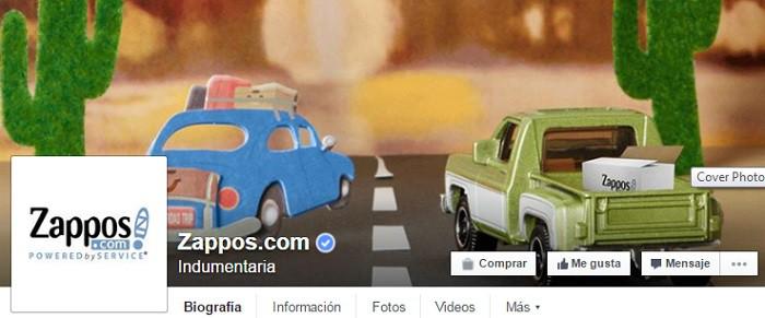zappos-pagina-en-facebook