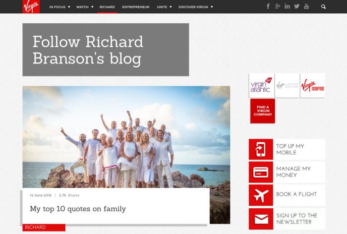 Richard Branson: Como crear una marca personal de exito