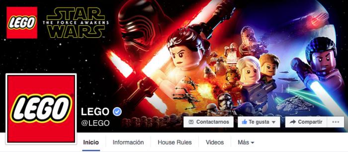 Como hacer mi portada de Facebook - LEGO