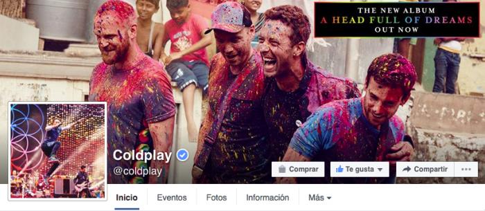Crear una portada de Facebook
