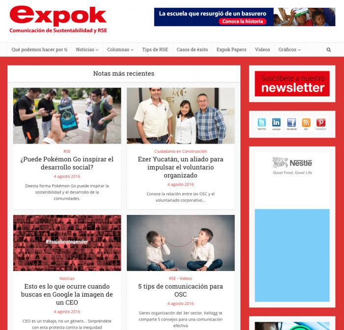 ExpokNews - Ejemplo de audiencia de nicho