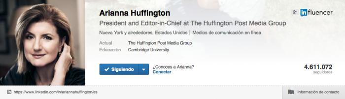 Marca personal en Linkedin - Huffington Post