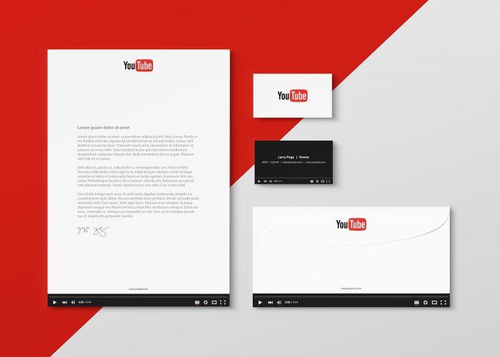 Diseno papeleria redes sociales YouTube