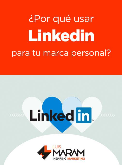 ¿Por que usar Linkedin si tienes una marca personal? ¿Sabías que incluso podrías alejarte del resto de las redes sociales para enfocar tus esfuerzos en esta? Te decimos por qué.