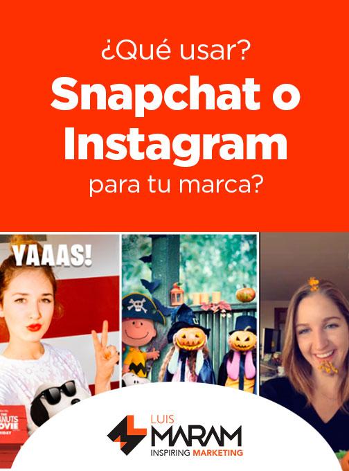Las historias en Instagram ya están aquí, y al parecer son un éxito. Casi de un modo idéntico a Snapchat, los usuarios de Instagram ahora pueden compartir. Muchas marcas, personas influyentes, y creadores de contenido están confundidos ante la pregunta: ¿se deben utilizar las historias de Instagram, Snapchat, o ambos?