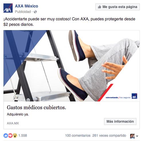 Ejemplo anuncio facebook