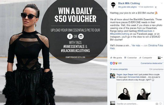 ejemplo-promocion-de-hastag-black-milk-clothing