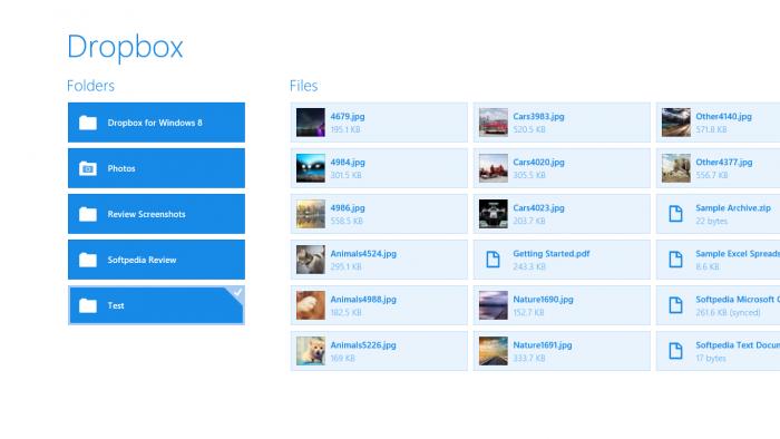 Dropbox. Herramientas de productividad.