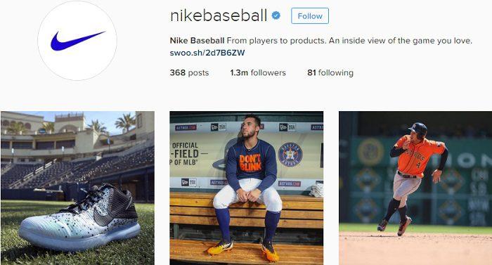 cuenta-de-nikebaseball-en-instagram
