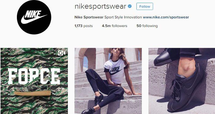 cuenta-de-nikesportswear-en-instagram