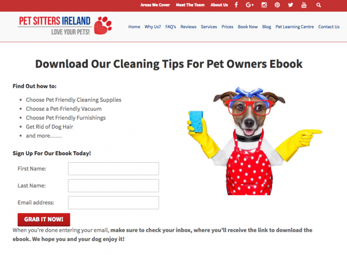 Atraer clientes con e-books