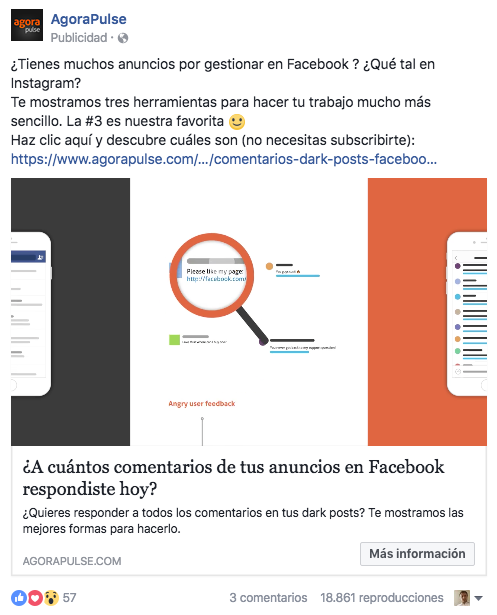 Como hacer buenos anuncios de Facebook